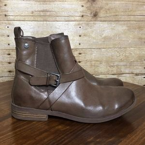 ROXY ANKLE BOOT BRVOWN SIZE 9 EUC